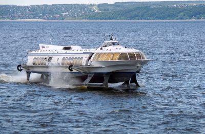 МИЦ «Композиты России» ведут разработку надстройки  из полимерных композиционных материалов для скоростных пассажирских судов на подводных крыльях