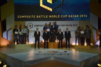 Команда МИЦ «Композиты России» заняла 2 место на Composite Battle World Cup Kazan-2016