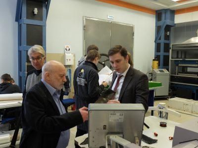 Академик Александр Берлин побывал с визитом в инжиниринговом центре «Композиты России»