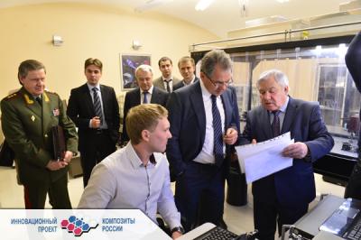 11 марта 2013 года Сергей Шойгу оценил Бауманские композиты
