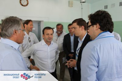 Аркадий Дворкович посетил лабораторию климатических испытаний МВТУ им. Н.Э. Баумана и ФГУП «ВИАМ»