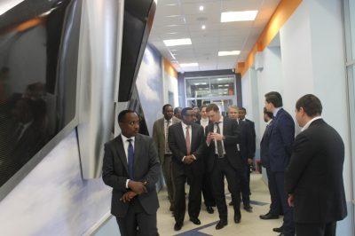 Правительственная делегация Эфиопии посетила МИЦ «Композиты России»