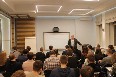 Андрей Полозов – Яблонский провел открытую лекцию в МГТУ им. Н.Э. Баумана