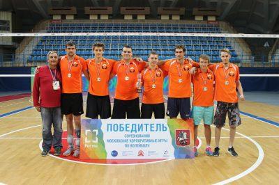 «Композиты России» — первые по волейболу на Корпоративных играх Ростех