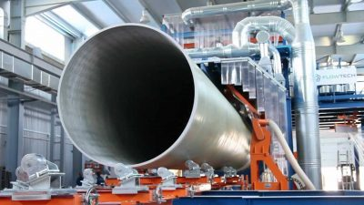 МИЦ «Композиты России» МГТУ им. Н.Э. Баумана разрабатывает высокотехнологичные трубы для нефтепроводов