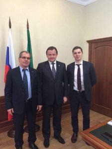 Министр здравоохранения РТ одобрил внедрение проектов Кластера «Медицинская промышленность, новая химия биотех» на территории Татарстана