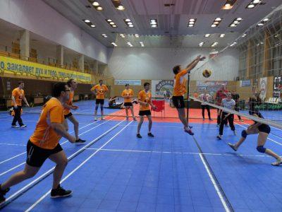 Волейбольная команда «Композиты России» одержала победу в первом матче Спартакиады