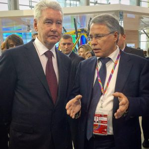 Бауманка представила разработки кластера Химбиомед мэру Москвы