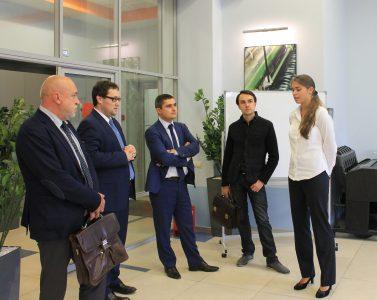 Представители Федерального Казначейства посетили  МИЦ МГТУ им. Н.Э. Баумана