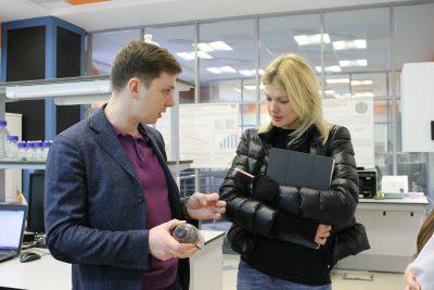 Марина Ракова побывала с рабочим визитом в МИЦ «Композиты России»