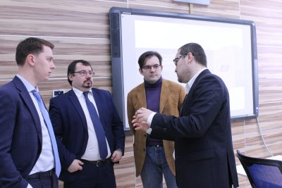 Генеральный директор Агентства по технологическому развитию с рабочим визитом посетил МИЦ «Композиты России»