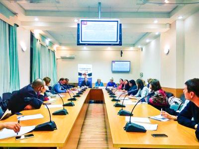 Прошло заседание в Департаменте науки, промышленной политики и предпринимательства города Москвы