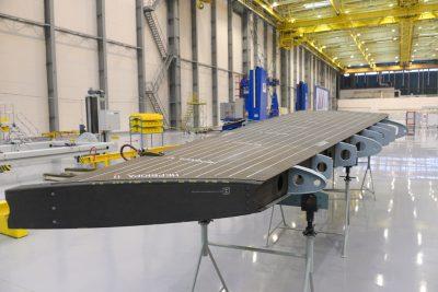 Создание системы встроенного непрерывного неразрушающего контроля агрегатов каркаса авиационной техники из ПКМ (внедрение оптоволокна)