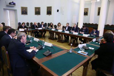 Руководитель Департамента образования города Москвы  принял участие в круглом столе в МГТУ им. Н.Э. Баумана