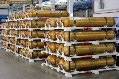 В МИЦ «Композиты России» разрабатывается технология создания металлокомпозитных баллонов высокого давления