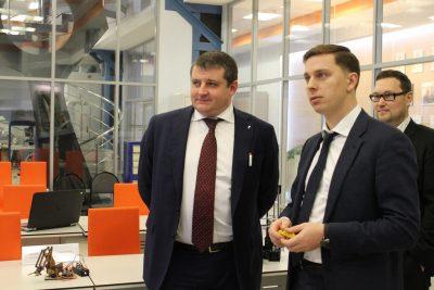 Вице-президент «Ростелеком» ознакомился с разработками «Композиты России»