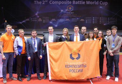 «Композиты России» одержали победу в конкурсах Composite Battle World Cup 2017