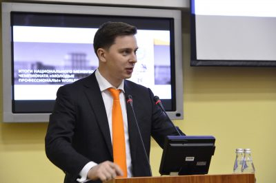 Владимир Нелюб выступил на ректорате МГТУ имени Баумана