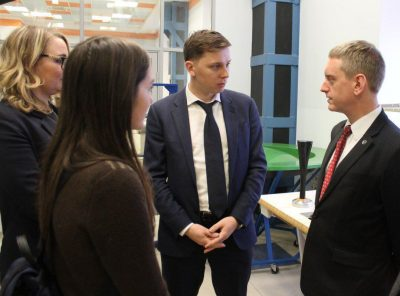 «Композиты России» посетила делегация из Великобритании