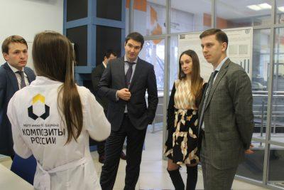 Управление Президента РФ по научно-образовательной политике оценило разработки «Композиты России»