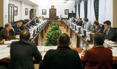 Владимир Нелюб принял участие в расширенном заседании Минпромторга РФ