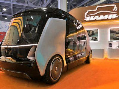 «Композиты России» и «НАМИ» обсудили сотрудничество по проекту беспилотного автомобиля из композитов