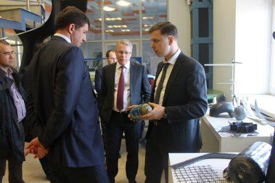 «Композиты России» обсудили возможности сотрудничества с Президентом «Ростелеком»