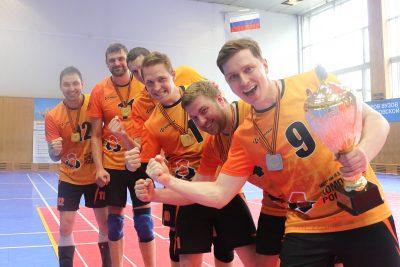 «Композиты России» отстояли «Кубок Победы» в волейбольном турнире