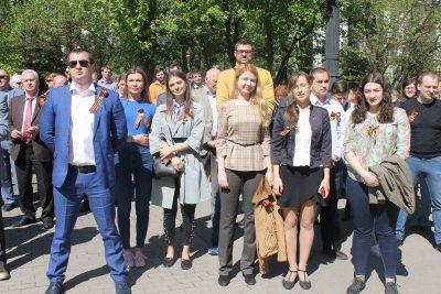 «Композиты России» приняли участие в митинге ко Дню Победы