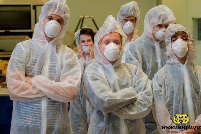Практика обучающихся в «Инжинириум» на производстве индустриального партнёра