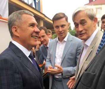 «Композиты России» представили уникальный стенд Президенту республики Татарстан