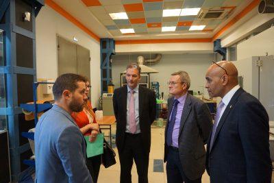 Делегаты из Англии посетили МИЦ «Композиты России»