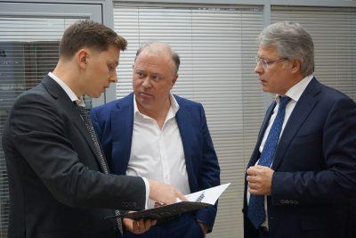 Визит в «Композиты России» журналиста Андрея Караулова
