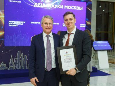 Владимиру Нелюбу торжественно вручили премию Правительства Москвы  в Кремле