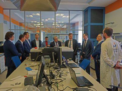 Участники совещания по инновационному развитию РФ посетили МИЦ «Композиты России»