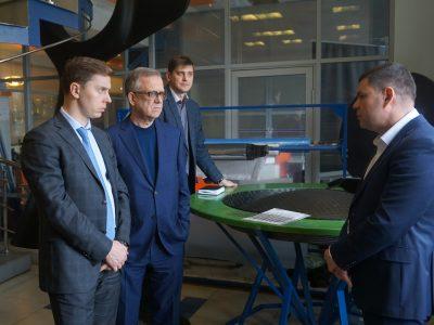 «Композиты России» и ГК «Гагарин» обсудили перспективы совместной работы для развития Арктики