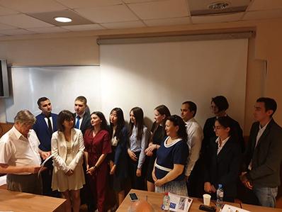 Защита диссертаций магистрантов «Композиты России»