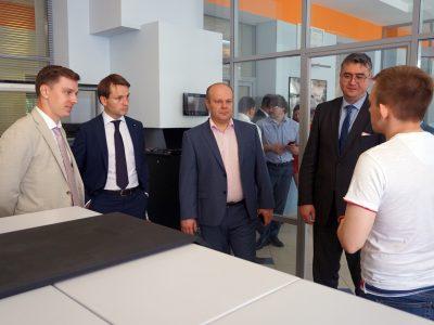 Представители Правительства Архангельской области и САФУ с ответным визитом прибыли в МГТУ им. Баумана
