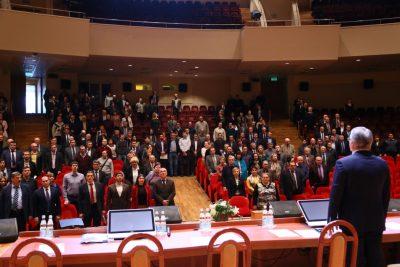 Ректор МГТУ отметил успехи«Композиты России» на конференции трудового коллектива Бауманки