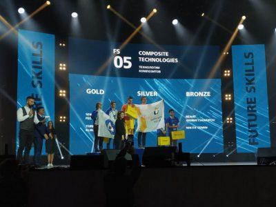 «Композиты России» первые на Мировом чемпионате WorldSkills Kazan 2019