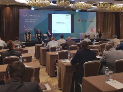 «Композиты России» выступили на конференции «Композиты СНГ» 2019