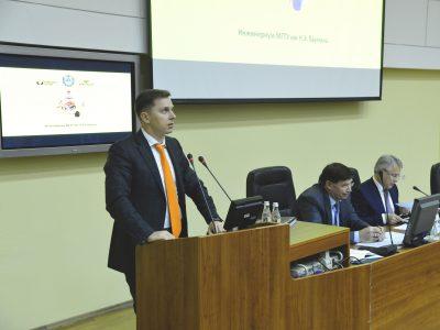 Владимир Нелюб выступил на Ректорате МГТУ им. Н.Э. Баумана