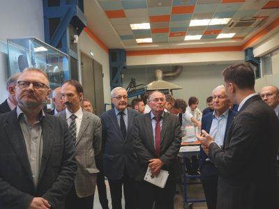 Ученый совет факультета СМ МГТУ имени Баумана посетил МИЦ «Композиты России»