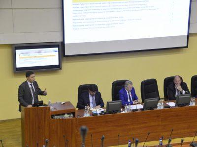 Владимир Нелюб выступил на заседании Ученого совета МГТУ имени Баумана
