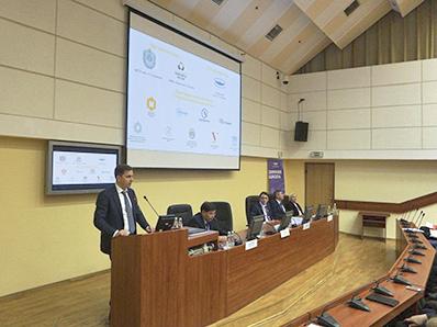 Владимир Нелюб выступил на открытии олимпиады «Я – профессионал»