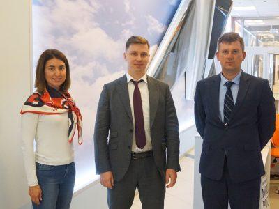 «Композиты России» обсудили развитие цифровых технологий с ДИТ «Росатома»
