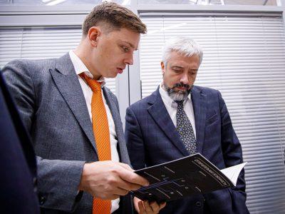 Руководство «Композиты России» и Россотрудничество провели рабочую встречу