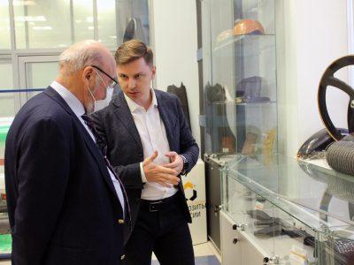 Директор «Композиты России» провел деловую встречу с Сергеем Алдошиным