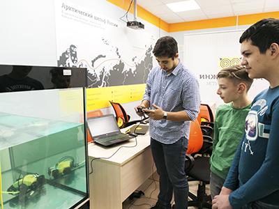 Открыта регистрация на окружные соревнования по подводной робототехнике