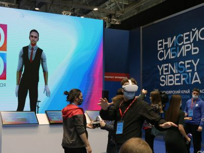 Владимир Нелюб выступил на Красноярском экономическом форуме